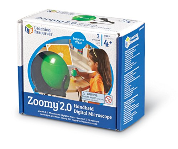 Learning Resources Zoomy 2.0 Handheld Digital Microspace